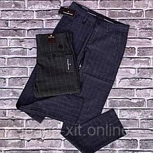 Штани Чол. 30(р) синій 8005 zerga Туреччина Літо-В