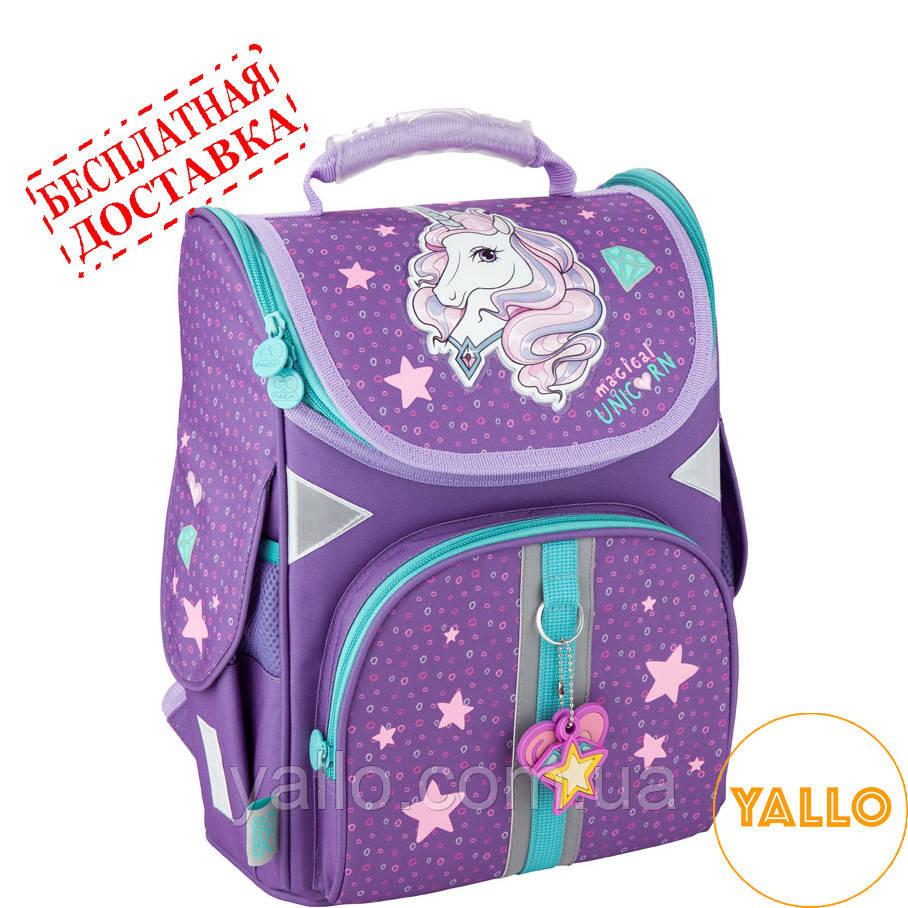 Рюкзак школьный каркасный GoPack Education Unicorn dream (GO20-5001S-1)
