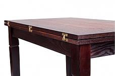 Стол кухонный деревянный Эрика Микс мебель, цвет венге-орех, фото 2