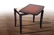 Стол кухонный деревянный Эрика Микс мебель, цвет венге-орех, фото 3