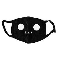Маска тканевая Geekland Кей Поп Аниме рожицы милая мордочка K-Pop чёрная MS 034.472