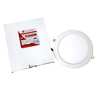 ElectroHouse LED панель круглая 4100К /Ø 225мм/Ø раб. 205мм/18W/1620Lm