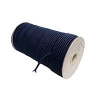 Шнурок-резинка круглый Luxyart 3 мм темно-синий, 500 метров (Р3-5)