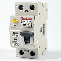 ElectroHouse ДИФЕРЕН Автомат 25А 1P+N 30mA 4,5 kA 230-240V IP20
