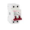 ElectroHouse Автоматичний вимикач 2P 20А 4,5 kA 230-400V IP20