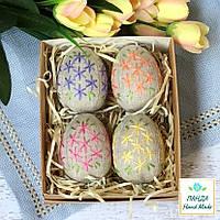 """Набор ручной работы """"Пасхальные яйца""""  - 4шт в коробке"""