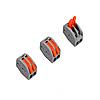 ElectroHouse Коннектор на два контакту (400В, 32А) самозажимный
