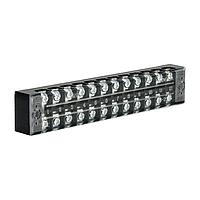 ElectroHouse Клеммная колодка в корпусе 12 клеммных пар, 25А, IP20, винтовой