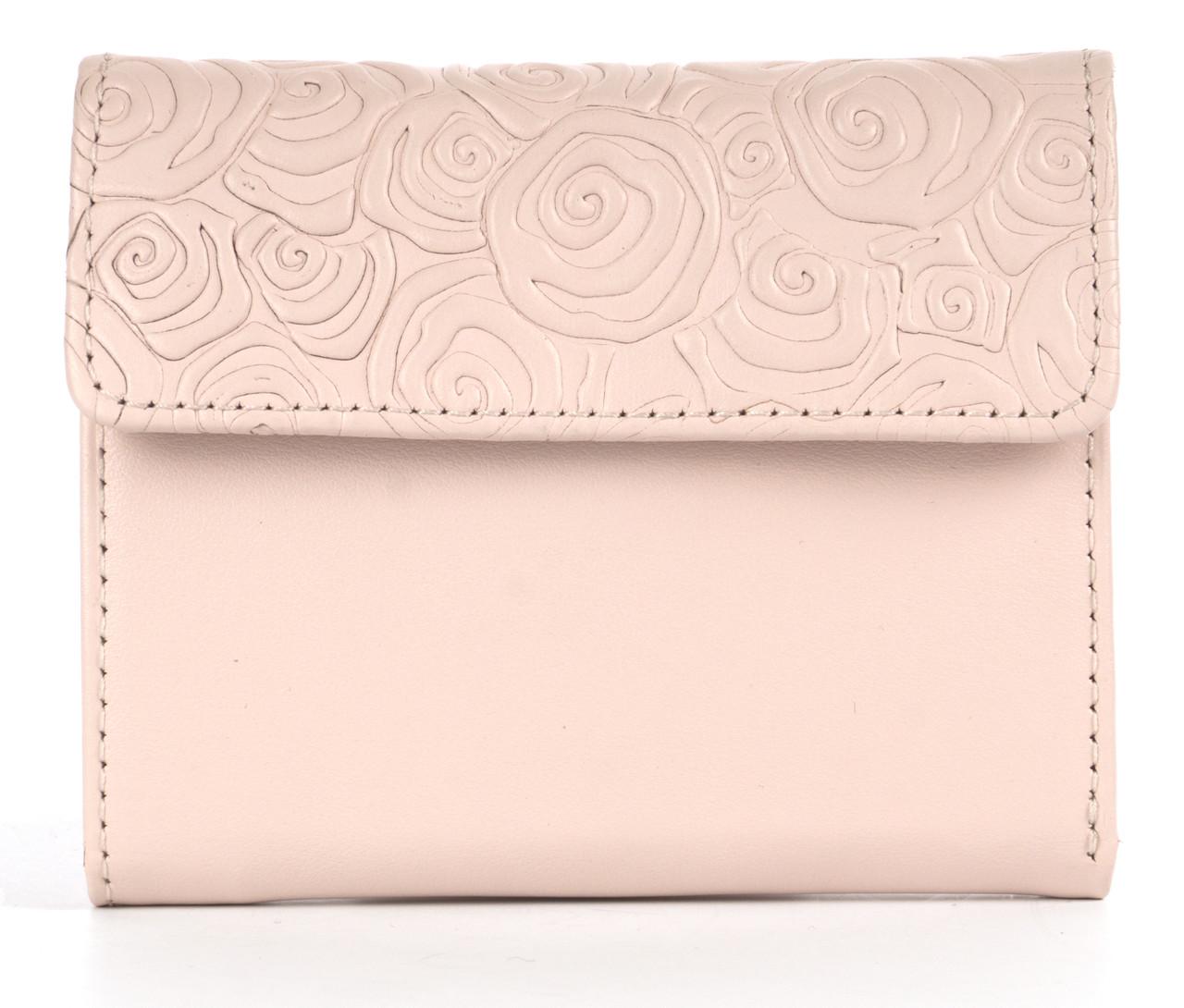 Жіночий шкіряний маленький якісний гаманець DeKOL art. Mia