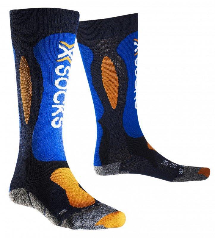 Термоноски X-socks Ski Carving Silver Junior | розмір 31-34