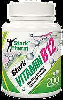Вітаміни Stark Pharm - Vitamin B12 50 мкг (200 таблеток) (ціанокобаламін)