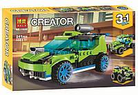 Конструктор BELA 11046 CREATOR -  Суперскоростной раллийный автомобиль 3в1 (241 дет.)