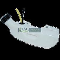 Бак топливный на бензокосу (2 отв. боковая горловина)
