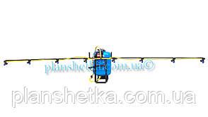 Опрыскиватель на мотоблок 50 л ширина захвата 4 м (без компрессора)