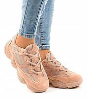Женские кроссовки с неоновой сеткой, фото 1