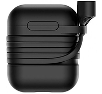 Чехол Baseus Silicone Case для Apple AirPods Black