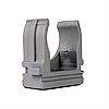 ElectroHouse Кріплення для гофротруби Ø 32 мм, Діаметр отв. 5 мм, колір сірий 50 шт