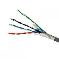 ElectroHouse Кабель FTP 4х2х0,51 Cu сірий (внутр. монтаж)
