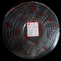 ElectroHouse Телевізійний (коаксіальний) кабель RG-6U CCS 1,02 Cu чорний ПВХ