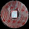 ElectroHouse Телевізійний (коаксіальний) кабель RG-6U CCS 1,02 Cu прозорий Силікон