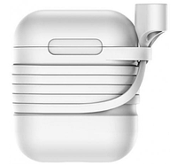 Чехол Baseus Silicone Case для Apple AirPods Gray