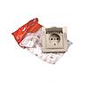 ElectroHouse Розетка з кришкою латте Enzo 16A IP22