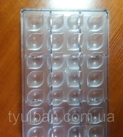 Лимон лимончик поликарбонатная форма для шоколадных конфет