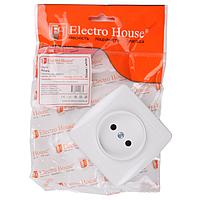 ElectroHouse Розетка без заземления 16А