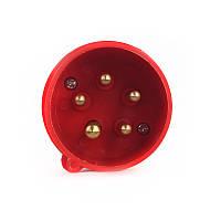 ElectroHouse Вилка силовая 5x16 3P+PE+N /16 A /380-415V /IP44
