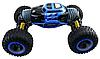 Трюковая машинка трансформер на радиоуправлении огромная Hyper Big Foot 48 см джип перевертыш вездеход синяя, фото 4