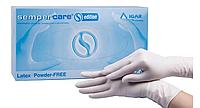 Перчатки медицинские Sempercare IGAR латексные нестерильные 100 шт