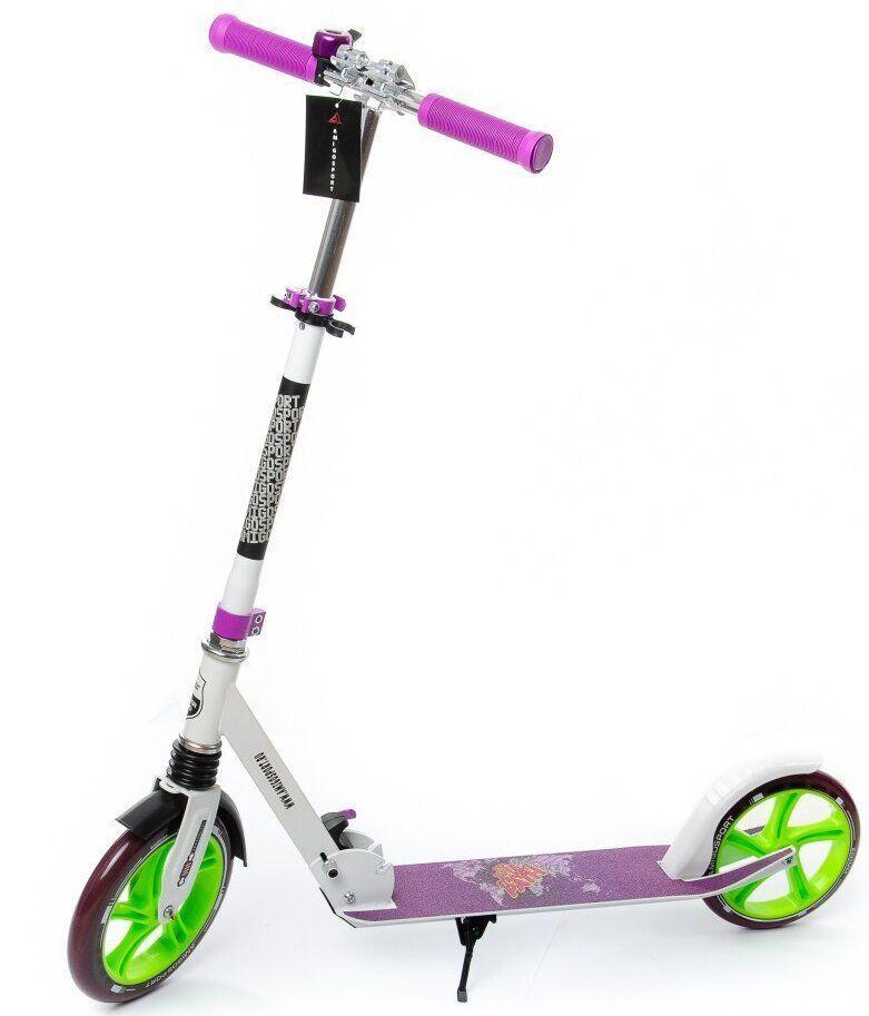 Самокат двухколесный для детей Amigo Sport Prime Super
