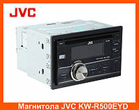 Магнитола JVC KW-R500EYD, Автомагнитола,Магнитола 2 DIN Bluetooth (Блютуз)