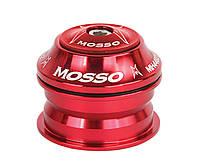 Рулевая колонка Mosso ZS44, полуинтегрированная, красная
