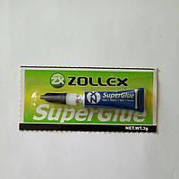 Супер клей ZOLLEX 3g
