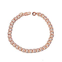 "Браслет ""Love"" SONATA з медичного золота, позолота РВ, 52038 (20.5 см)"