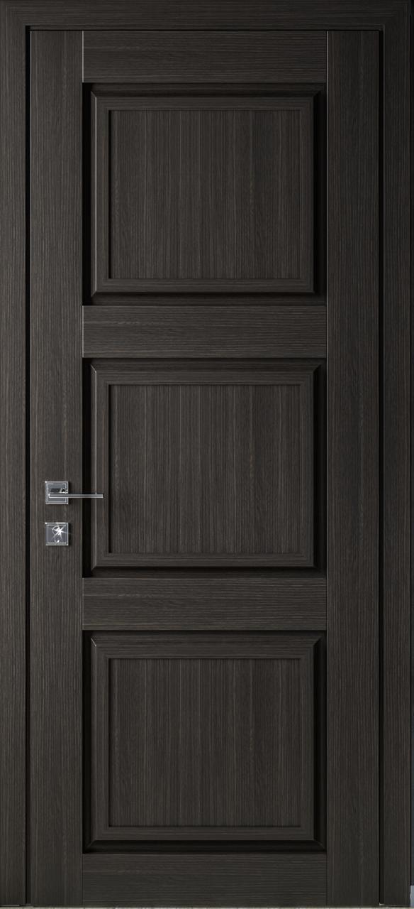 Двери ATLANTIC A001. Полотно, срощенный брус сосны, эко-шпон