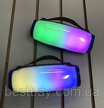 Беспроводная Bluetooth портативная колонка AK 205 | Светомузыка | Powerbank |