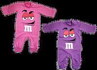 Человечек для девочки M&M на рост от 56 см до 74 см