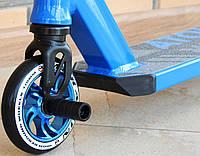 Самокат Трюковой Maraton PDG 110 HIC с пегами, Трюковый, колеса алюминиевые 110 мм, для трюков