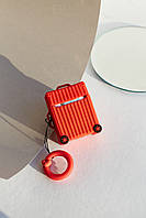 Чехлы для наушников Чехол для наушников Apple Чемоданчик с колесами красный One size (Hox-16)