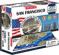 Пазл об'ємний 1130 4D Cityscape Сан-Франциско (San Francisco)