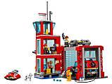 Конструктор BELA (Lary) 11215 CITY -  Пожарное депо (533 дет.), фото 4