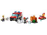 Конструктор BELA (Lary) 11215 CITY -  Пожарное депо (533 дет.), фото 5