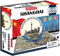 Пазл об'ємний 1100 4D Cityscape Шанхай (Shanghai)