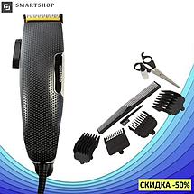 Профессиональная машинка для стрижки волос Gemei GM-806 9W - 4 насадки, фото 2