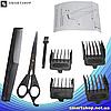 Профессиональная машинка для стрижки волос Gemei GM-806 9W - 4 насадки, фото 4