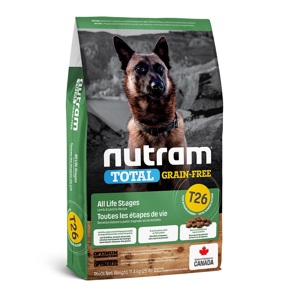 Сухой корм Nutram T26 Total GF Lamb&Lentils Dog 2кг