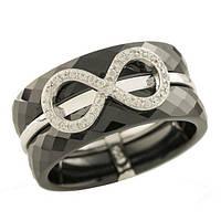 Серебряное кольцо Silver Breeze с керамикой 17 размер (1221761)
