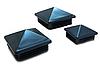 Пирамидальные заглушки ZKK